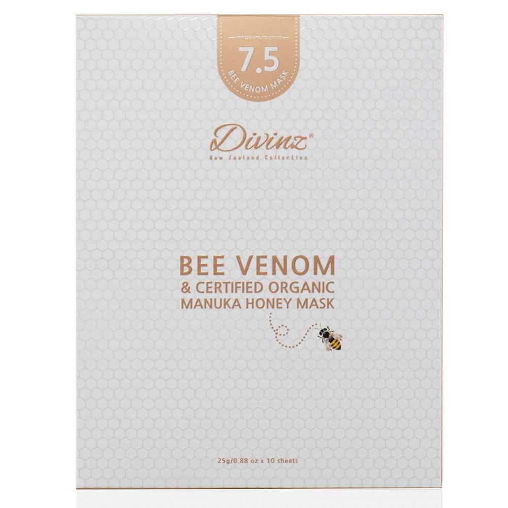 DIVINZ 蜂毒蜂蜜面膜7.5深层滋润款 10片/盒
