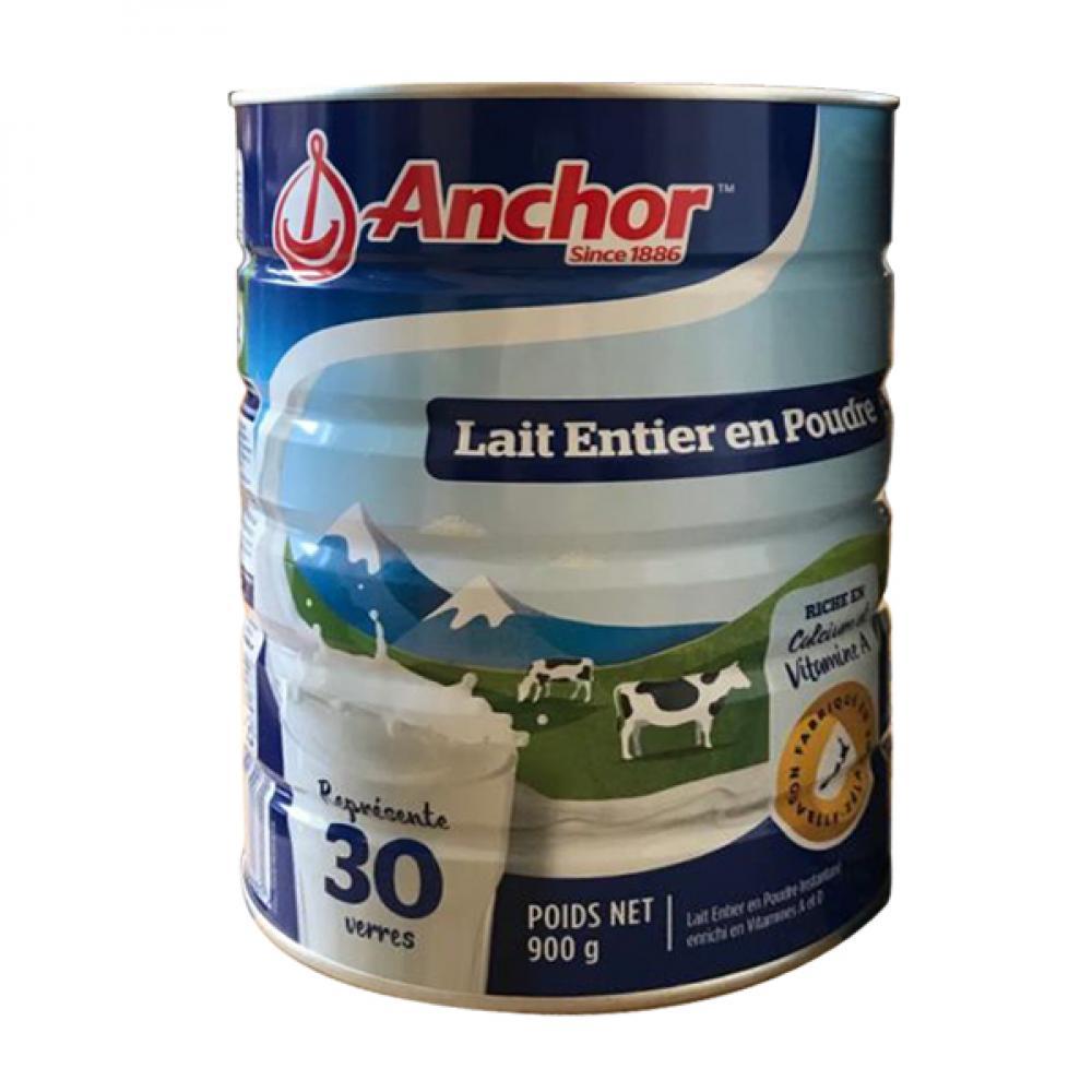 安佳成人全脂奶粉 整箱6罐 (900g/罐)