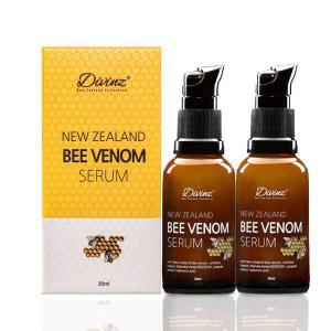 【保质期3-6个月】DIVINZ 新西兰蜂毒蜂蜜面部精华素30ML *2瓶