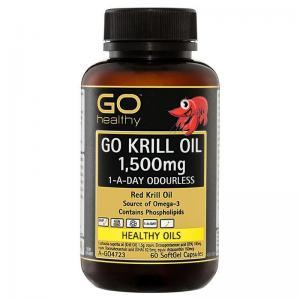 Go Healthy 高之源 1500mg 虾磷油胶囊 60粒