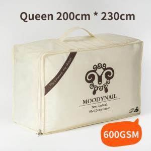 MOODYNAIL 优等新西兰羊毛被 600GSM 200*230CM