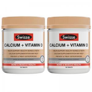 Swisse  柠檬酸钙+维生素VD  大钙片 150片 *2瓶
