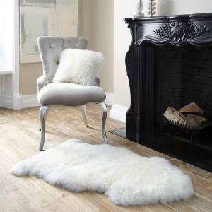 Auskin 长羊毛皮 地毯 85cm*50cm