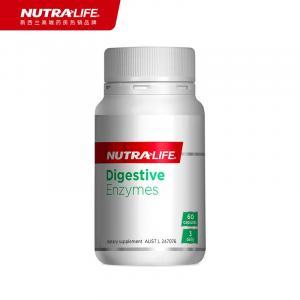 NUTRALIFE 纽乐 植物消化酶酵素胶囊 60粒