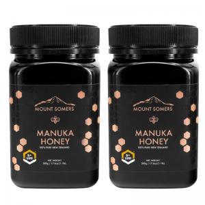 【两瓶套组】Mount Somers 麦卢卡蜂蜜 Manuka Honey UMF5+ 500g