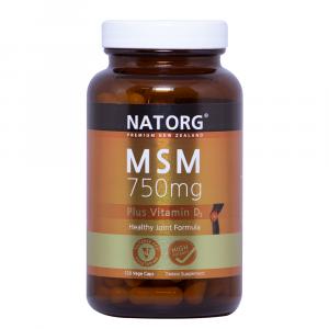 NATORG MSM强效关节止痛胶囊750mg 120粒