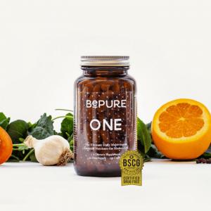 BePure One 纯天然有机日常复合维生素 维他命 150粒