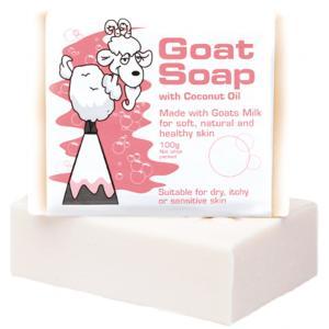 The Goat Soap 椰子油 山羊奶皂 100g
