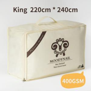 MOODYNAIL 优等新西兰羊毛被 400GSM 220*240CM
