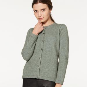 Mcdonald美丽诺羊毛开衫(施华洛世奇纽扣款)