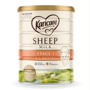 Karicare 可瑞康Sheep 婴幼儿绵羊奶粉1段 整箱6罐 (900g /罐)